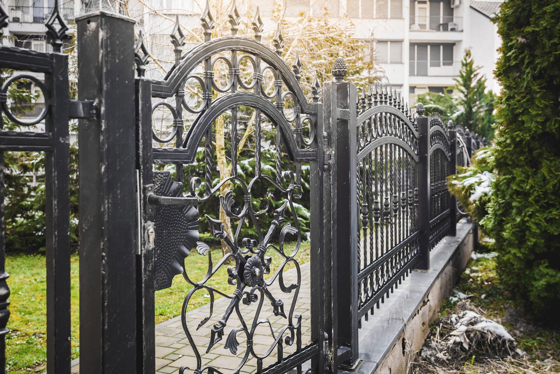 aiad, väravad, piirded
