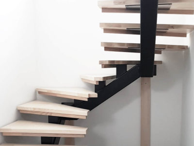 Treppen in U-Form