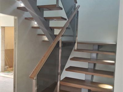 Metalltalal treppide valmistamine