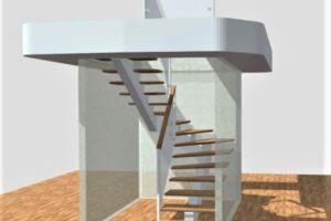 U- stairs